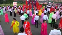 Thousands attend dancing parties held in North Korea