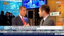 Euronext: Entrée en bourse au prix de 20 euros par action: Dominique Cerutti, dans Intégrale Bourse – 20/06