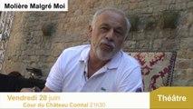 Francis Perrin  au Festival de Carcassonne dans Molière malgré moi :