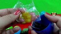 Surprise Eggs Peppa pig toys disney movie Cars Surprise toys Nickelodeon Spongebob toy