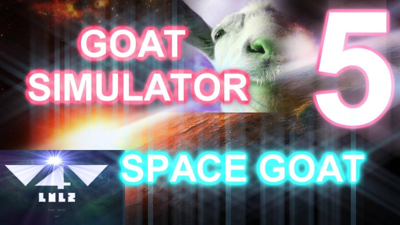 GOAT SIMULATOR – SPACE GOAT