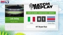 Italie - Costa Rica : Le Match Replay avec le son RMC Sport !