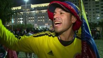 Latino road-trippers in Rio for World Cup make ends meet