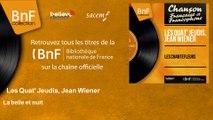 Les Quat' Jeudis, Jean Wiener - La belle et nuit