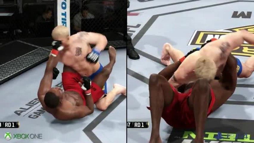 Versus - EA Sports UFC - Quelle version de EA Sports UFC 2014 est la plus belle ?