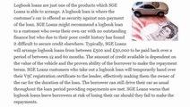 SGE Loans Explain Logbook Loans