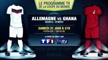 Argentine - Iran, Allemagne - Ghana... Le programme TV du jour !