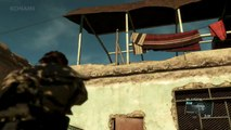 Metal Gear Solid 5 The Phantom Pain Gameplay PS4