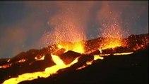 Réunion : le volcan du Piton de la Fournaise en éruption
