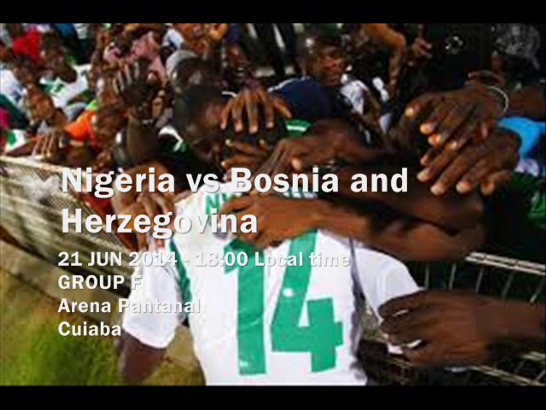 Live Nigeria vs Bosnia Online