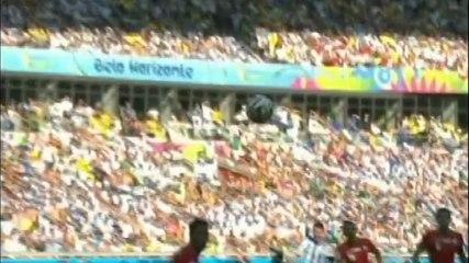 Gol de Messi vs Irán