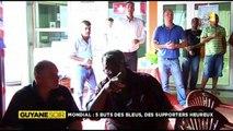2014/06/20 19h30 Jt RFO ► 2ème Victoire Équipe FRANCE 5-2 SUISSE Coupe du Monde Football 2014 FIFA World-Cup Brésil Engouement Fans Antilles Extrait Journal Information Outre-Mer Guyane 1ère France Télévision Vendredi 20 Juin 2014