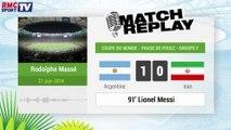 Argentine - Iran : Le Match Replay avec le son RMC Sport !