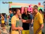 المعلق على محمد على بقناة الجزيرة يشرح لــ وائل جمعة وفهمى عن طريقة معاملة الجزيرة للمصرين فى قطر والعاملين داخل الجزيرة