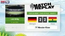 Allemagne - Ghana : Le Match Replay avec le son RMC Sport ! 21/06