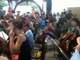 fête de la musique à Blanquefort (33) l'orchestre de l'école de musique