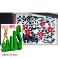 Best Price Red Flowers - Large Wall Decals Stickers Appliques Home Decor Review