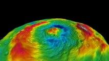 Volo virtuale sopra il gigantesco asteroide Vesta & Touring Crateri di Vesta - Dawn's Virtual Flight over giant asteroid Vesta & Touring Vesta's Craters WWW.GOODNEWS.WS