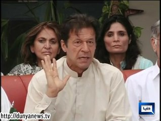 Stop North Waziristan operation until evacuation of IDPs :Imran Khan