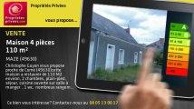 A vendre - maison - MAZE (49630) - 4 pièces - 110m²