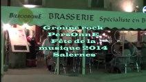 Salernes Var Concert Groupe Rock PersOnnE Fête de la musique 2014 près de l' Office du Tourisme de Salernes Dracénie Var