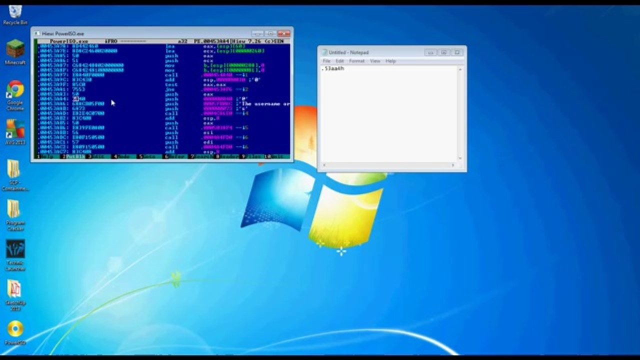 How To Crack A Program Using Hiew32 And W32DSM