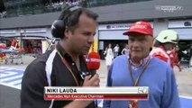 F1 2014 - 08 Austrian GP - Post-Race  Niki Lauda