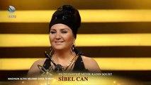 Sibel Can En İyi Fantazi Müzik Kadın Solist Ödülü Aldı