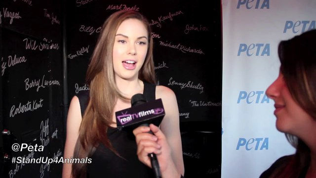 Jayde Nicole, Stand Up For Animals, Peta, Nicole Brajer