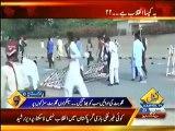 Lahore police had one gullu butt but Tahir ul qadri has thousands