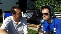 Christophe Morvan du duo Morvan-Raoul à la Transbaie 2014
