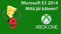 E3 2014 Microsoft - Mitä jäi käteen?