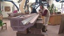 Le métier de tailleur de pierre à la Fondation de l'Œuvre Notre-Dame de Strasbourg