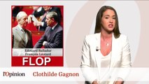 Le Top : Michèle Léridon, Le Flop : Edouard Balladur et François Léotard