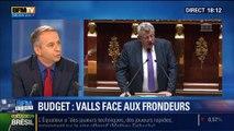 BFM Story: Budget: Manuel Valls face aux frondeurs du PS – 23/06