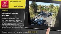 A vendre - appartement - SAINT RAPHAEL (83700) - 6 pièces - 149m²