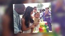 Kim Kardashian & Kanye West Throw North A Kidchella Birthday Party