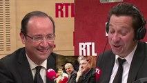 Laurent Gerra imite François Hollande... devant François Hollande