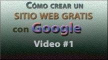 Como crear un Sitio Web Gratis con Google. INICIO Caracteristicas, Tipos