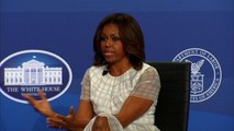 """Michelle Obama wants a woman president """"as soon as possible"""""""