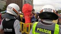 Au Brésil, des manifestations anti-Mondial sous haute surveillance