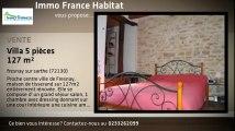 Vente de prestige - maison/villa - fresnay sur sarthe (72130)  - 127m²