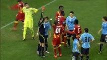 Luis Suarez contre le Ghana