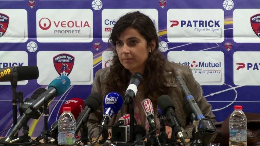 Conférence de presse - Helena Costa - 24 juin 2014