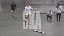 Morgan Smith Vs Spencer Brown BATB7 - Round 1 - Skateboard