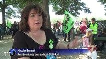Grève SNCF: baroud d'honneur de SUD-Rail