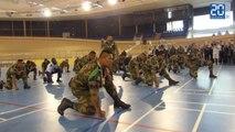 Le Haka du 15e RSC de Toulouse pour les blessés de guerre
