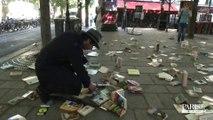 Une pluie de livres pour la chasse aux Trésors de Paris