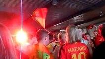 Supporters - Wex Marche-en-Famenne - Belgique-Algérie - 17 Juin 2014.