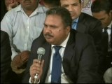 Delegation of New Apostolic Church pakistan Vist MQM Sit-in Numaish to Solidarity with Mr.Altaf Hussain